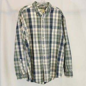 Eddie Bauer Men's M Regular Shirt Button Down